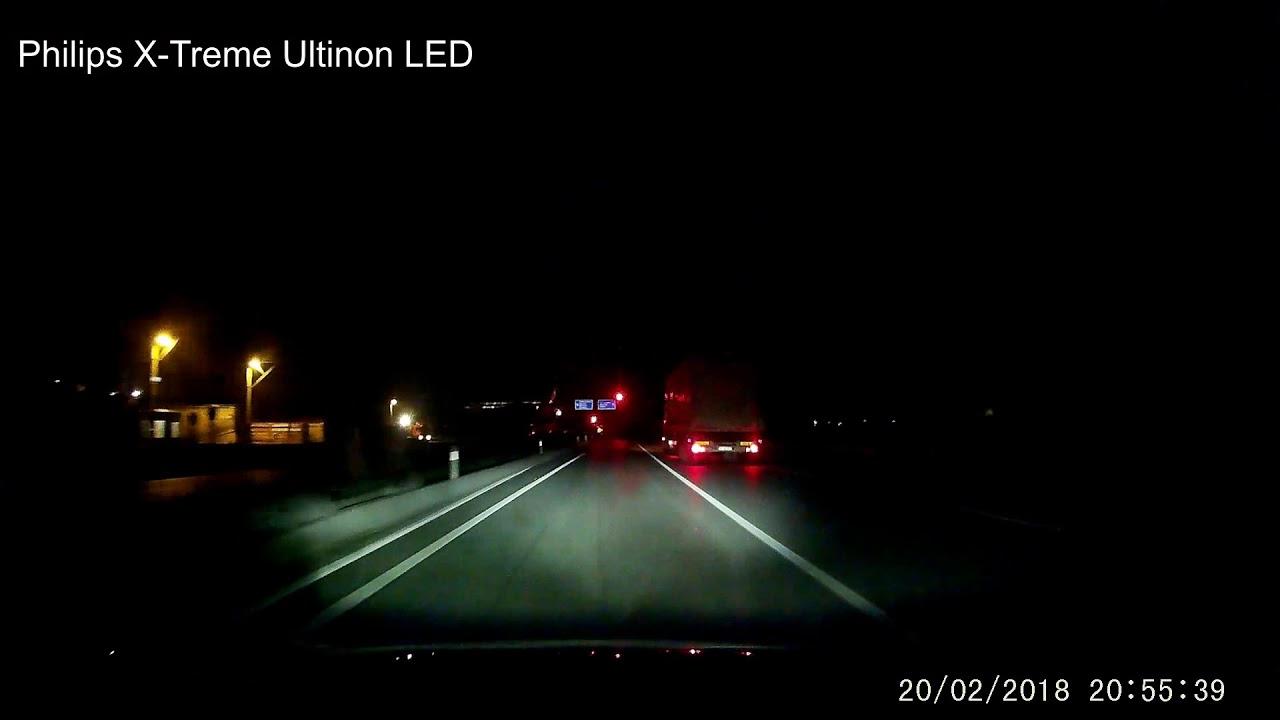 Philips X-Treme Vision vs Philips X-Treme Ultinon LED Karşılaştırma