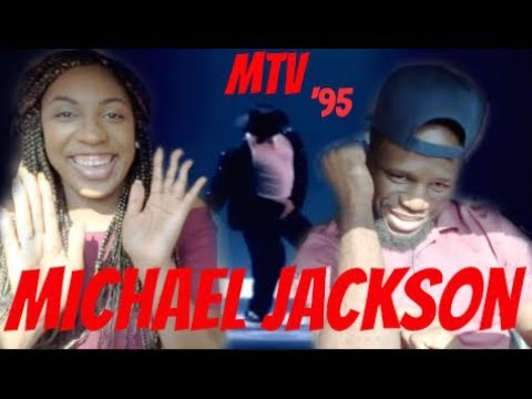Michael Jackson-Billie Jean + Dangerous 1995 REACTION (MTV AWARDS)