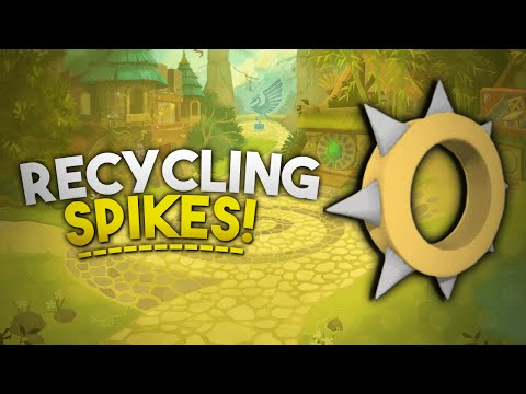 RECYCLING SPIKES IN ANIMAL JAM!?