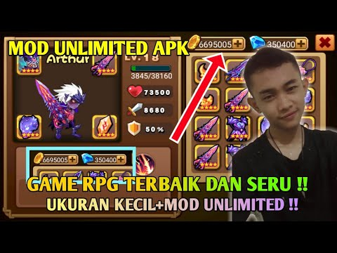 WOW! GAME ANDROID RPG TERBAIK 2019 UNLIMITED MOD APK !! - BRAVE FIGHTER