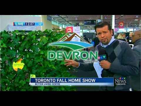 Fall Home Show - CTV News - Green Living Fences by Devron Sales Ltd