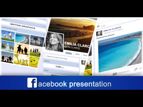 facebook presentation after effects template youtube