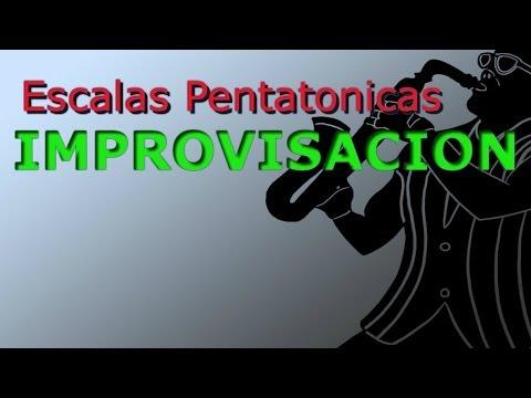 Escalas Pentatonicas Improvisacion Saxofón Alto