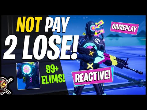New HIT MAN Reactive Skin Review! FIRING LINE | SHOOTING GALLERY! Before You Buy (Fortnite BR)