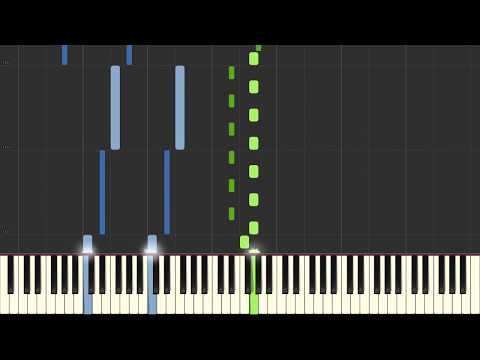 Primavera - Ludovico Einaudi - Piano Tutorial (Synthesia/Sheet Music/Piano Cover)