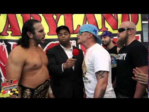 NEW MCW Heavyweight Champion Matt Hardy gets challenged by Ryan McBride
