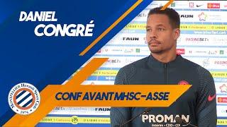 VIDEO: Daniel Congré avant MHSC-ASSE