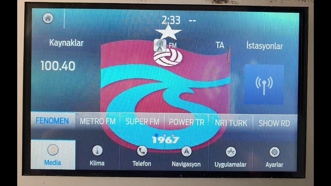 SYNC 3 Ekrana Video Player ve Tema uygulaması