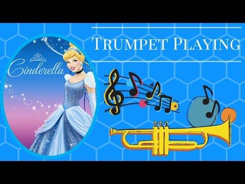 Trumpet Playing - (Bibbidi Bobbidi Boo by Mark David And Al Hoffman