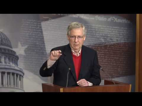 Sen. McConnell Wraps 2017 Action in Congress