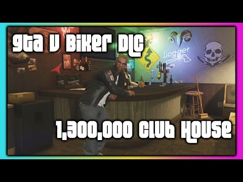 GTA 5 Online :: Biker DLC ::  Buying A Motorcycle Club House