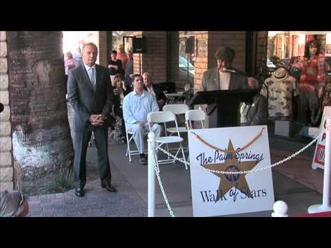 Palm Springs Speakers for Walk of Stars