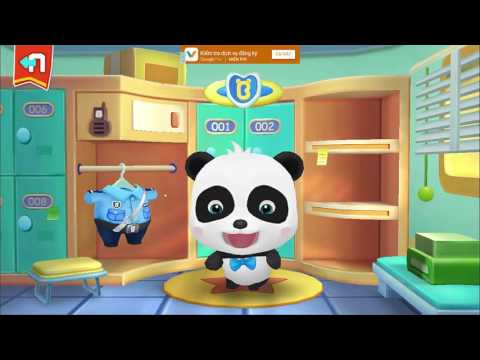 Baby Panda Policeman | Kids Learn Safety Tips With Little Babe Panda | Kids Video Games