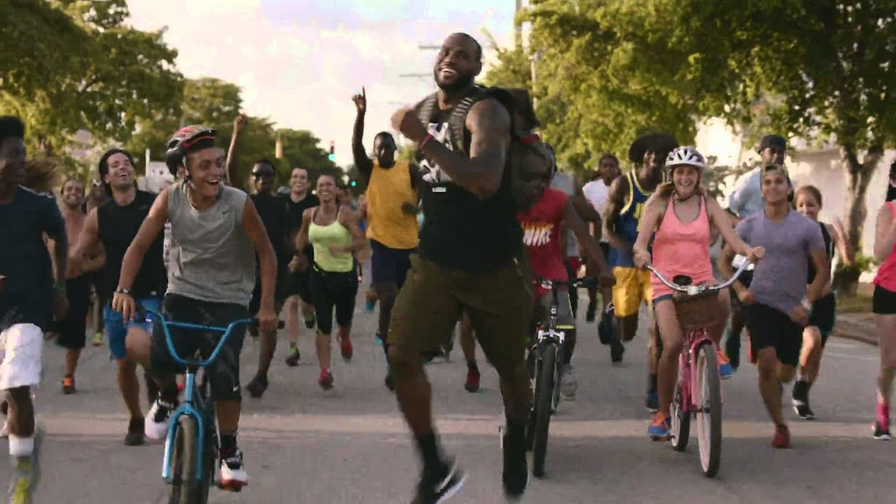 hot sales a3f61 630da LeBron James Nike Commercial - Training Day (Strive for Greatness)