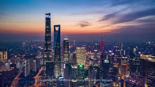 Flycam Thành Phố Thượng Hải, Trung Quốc 2019
