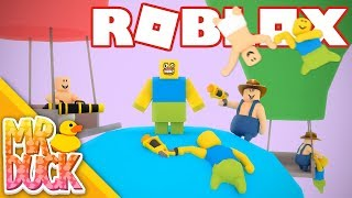I'M BLOCKY SKETCH?! - Roblox Floppy Fighters