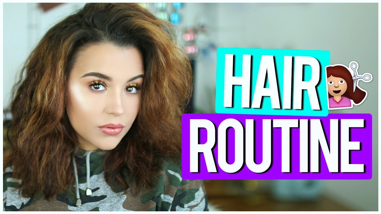 Styling Thick Hair: HOW I STYLE MY THICK FRIZZY HAIR! - YouTube