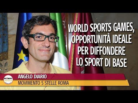 """Angelo Diario: """"World Sports Games, opportunità ideale per diffondere lo sport di base"""""""