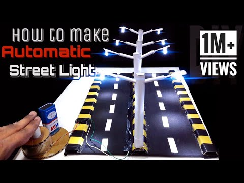 How to make Automatic Street light (DIY)