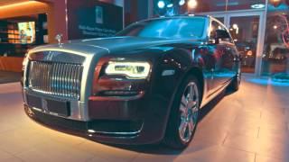 Rolls Royce Motor Cars Almaty Opening смотреть