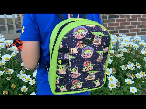Trekoda Mini Backpack Pattern by Country Cow Designs