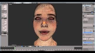 Как сделать игру на Unity 5 #32 Кастомизация персонажа и анимация лица