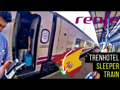 The SUD EXPRESS - Hendaye To Lisbon Gran Clase Review