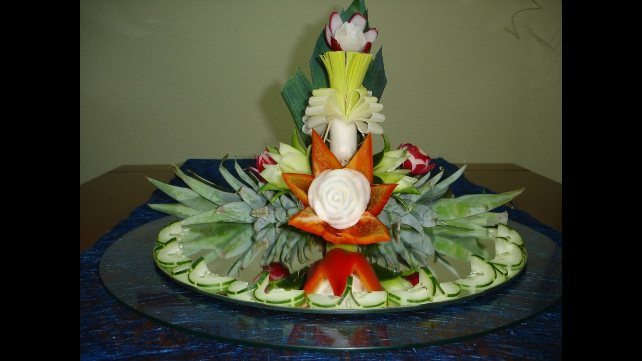 Decorating Ideas > How To Make A Decoration For Centerpiece  Art With Fruit  ~ 224209_Cake Decorating Ideas Vegetables