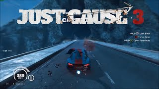 Just Cause 3 Can you break a bridge with the fastest car