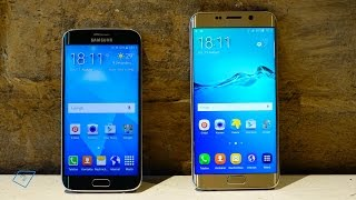 Vergleich: Samsung Galaxy S6 edge+ vs  Galaxy S6 edge