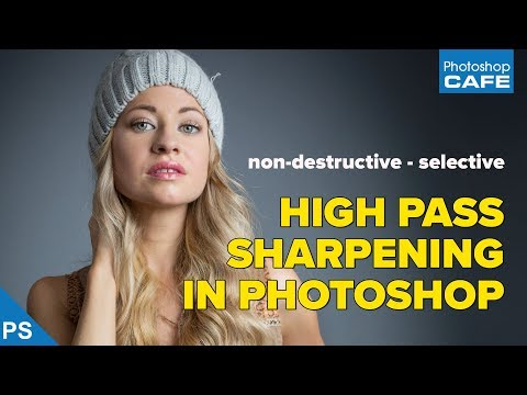 How to Selectively Sharpen Photos with Photoshop's High Pass Filter
