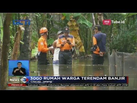 Anak Sungai di Cilacap Meluap, 3000 Rumah Warga Terendam Banjir dan Lumpuh Total - SIS 14/11