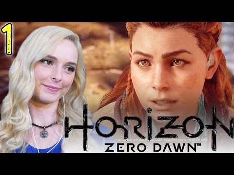 I'M IN LOVE- Horizon: Zero Dawn Gameplay Walkthrough Tutorial- Pt 1