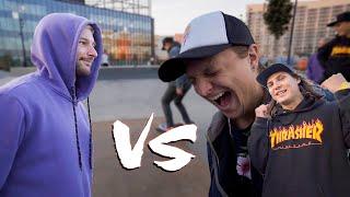 НИКИТА vs КИЛЛЕР и АНТОН | Игра в SKATE