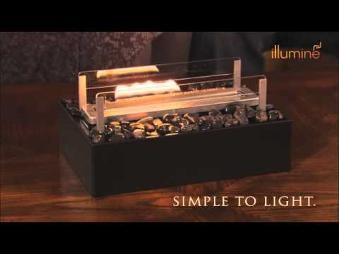 Illumine Tabletop Flame Sculptures