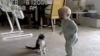 Cutest Wrestling Match Ever -PetTube thumbnail