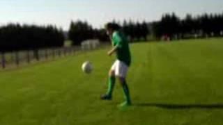 Laura et le foot ^^