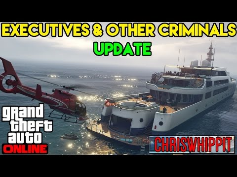 GTA 5 [PC] - UPDATE -  Executives and Other Criminals - LUXURY YACHTS