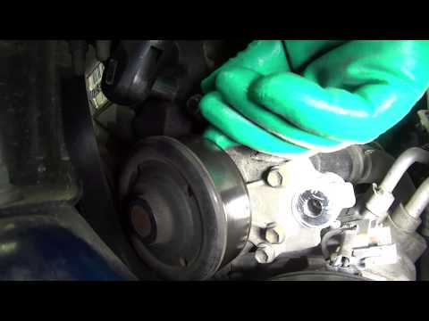 How to Install a Water Pump - Toyota 1.8L 4 cyl. WP-9173 AW9376