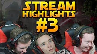 CLUTCH PLAYS... & FAILS - Battlefront 2 Stream Highlights #3
