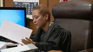 Judge Vonda Evans sentences a mother who tortured and murdered her own daughter