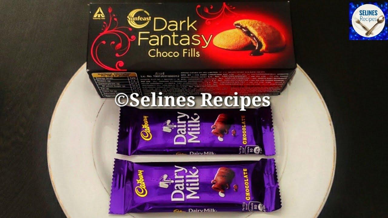 Chocolate Ladoo Recipe | Dark Fantasy Biscuit Ladoo | Chocolate Biscuit Ladoo | Lock down Recipes |