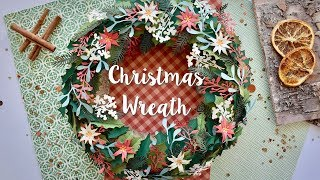 How to Make Christmas Wreath - Sizzix Lifestyle