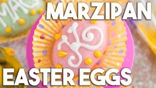 Marzipan Easter Eggs – A Cashew Nut Confection