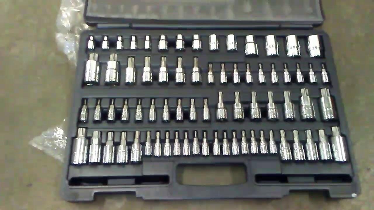 72 pc. ATD Tools 13772 Master Star Bit Socket Set