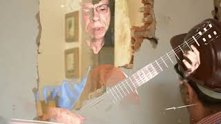 Neighbor Annoyed at Guitar Practicing Smashes in Apartment Wall. 679-3