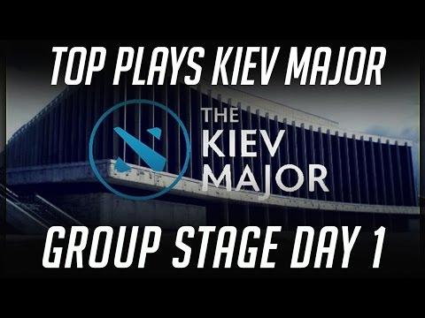 TOP Plays of Kiev Major - Group Stage Day 1 Dota 2 by Time 2 Dota #dota2
