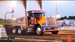 Tractor/Truck/Semi Pulls! 2018 Canfield Fair All American Pull USA East