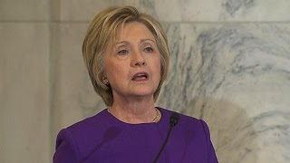 Hillary Clinton Calls For Legislation To Fight