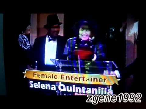 Selena - Female Entertainer of the Year (1988 Tejano Music Awards)